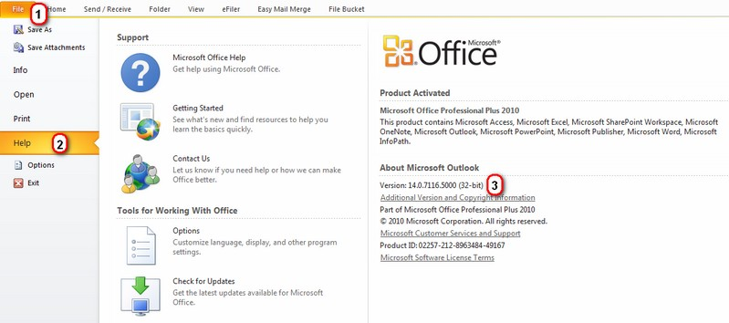 how to find powerpoint version