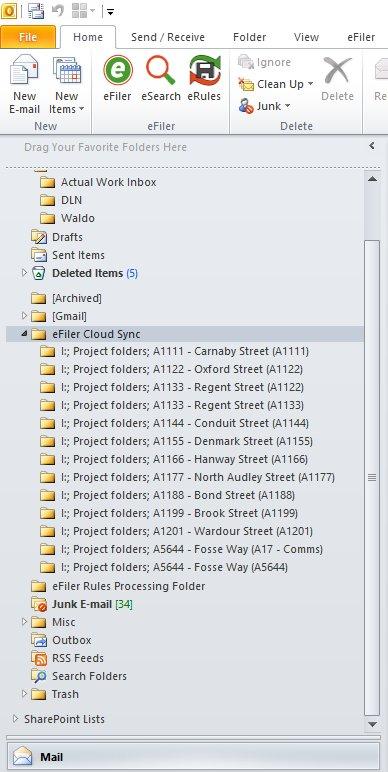 Cloud Sync Folders
